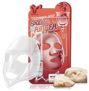 Маска для лица тканевая Elizavecca Deep Power Ring Mask Pack - Collagen