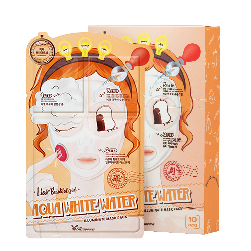 Набор/Маска трехэтап. ОМОЛАЖИВАЮЩАЯ Anti-Aging EGF Aqua Mask Pack, 10 шт
